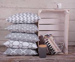 Интерьерные подушки 5 шт. (30*30см съемные наволочки )