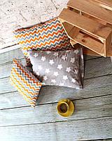 Интерьерные подушки 3 шт. (30*40см, 40*50-2 шт., съемные наволочки )