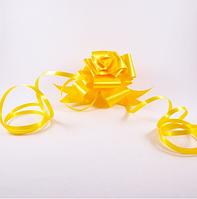 Лента полипропиленовая подарочная 33мм , желтый СПП33