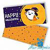 Шоколадная плитка HAPPY HALLOWEEN (чёрный шоколад)