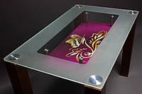 Стол стеклянный на кухню МФ-1,2,3
