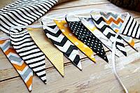 Гірлянда прапорці для дитячої (довжина 255-260см), фото 1