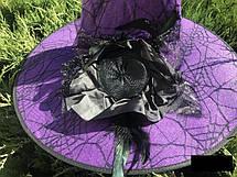 Шляпа карнавальная с розой и пером Цвета разные, фото 2