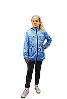 Куртка-ветровка для девочек FLOWER FS150 140 см (FS150)