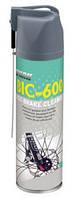 Жидкость для очистки ротора дискового тормоза Chepark BIC-600,аэрозоль, наличие диффузора для трудно доступных