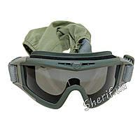 Очки тактические маска оливковые Revision 2122(BE0946UA)