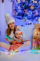Наш новогодний декор в стиле рустик для новогодних фотосессий.  11