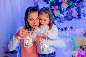 Наш новогодний декор в стиле рустик для новогодних фотосессий.  13