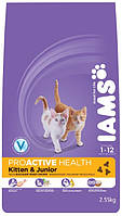 Корм для котят IAMS Kitten Chicken and Junior Chicken