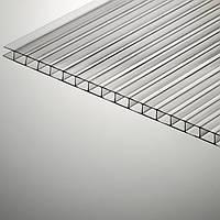 Сотовый прозрачный поликарбонат 6 мм Polygal