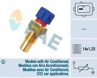 Датчик температуры охлаждающей жидкости Citroen Berlingo 1.8/1.9D 96- (1 конт.), FAE 32290