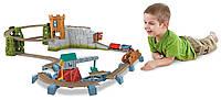Большой набор железная дорога Thomas & Friends Доставка сокровищ из замка Trackmaster