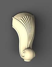 Ножка для мебели деревянная