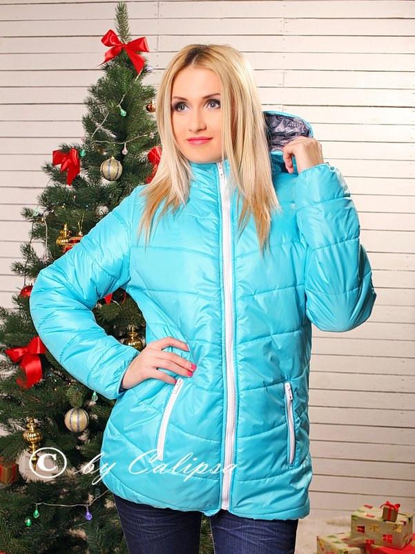 "П9005 Куртка на холлофайбере ""Марго"""