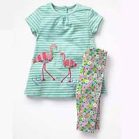 Комплект 2 в 1 для девочки Flamingo Jumping Beans (2 года)