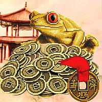 Схема для вышивки бисером оберег денежная лягушка