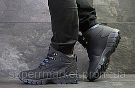 Кроссовки Nike Lunarridge темнр-синие  зима , код6527, фото 3