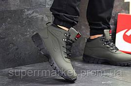 Кроссовки Nike Lunarridge зеленые  зима , код6530, фото 2