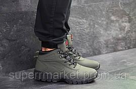 Кроссовки Nike Lunarridge зеленые  зима , код6530, фото 3