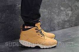 Кроссовки Nike Lunarridge коричневые  зима , код6531, фото 2
