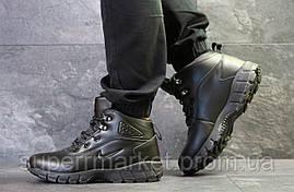 Кроссовки Nike Lunarridge черные  зима , код6532, фото 2