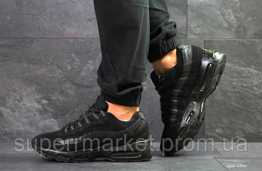 Кроссовки Nike 95 черные, код6544, фото 2