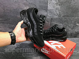 Кроссовки Nike 95 черные, код6544, фото 3
