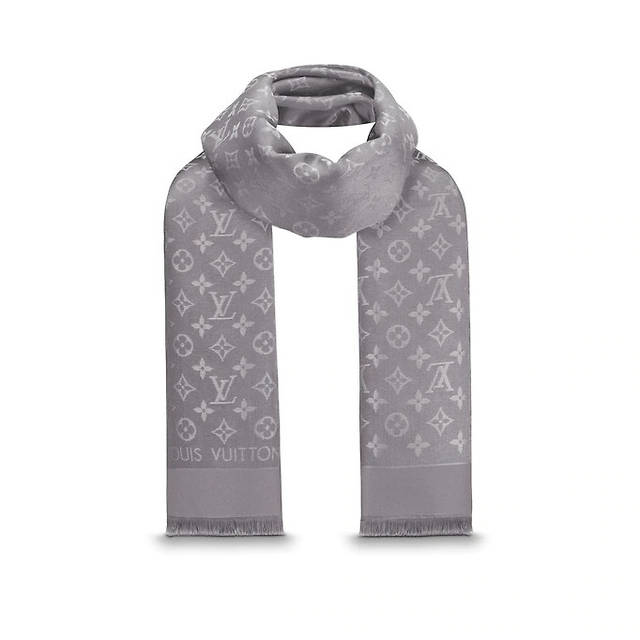 ÐенÑкий плаÑок Ñ Ð»ÑÑекÑом Louis Vuitton Shine Monogram (в ÑÑиле ÐÑи ÐиÑон) ÑеÑÑй, ÑоÑо 4