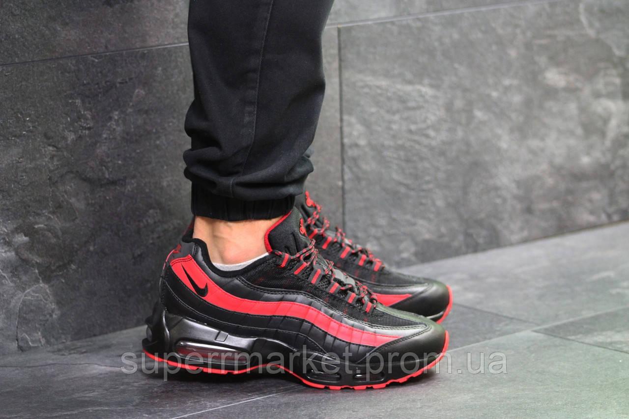 Кроссовки Nike 95 черные с красным, код6547