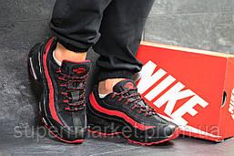 Кроссовки Nike 95 черные с красным, код6547, фото 2