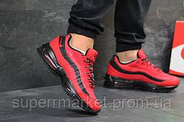 Кроссовки Nike Air Max 95 красные, код6548, фото 2