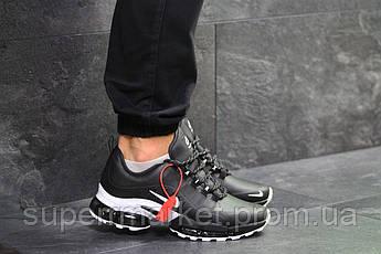 Кроссовки Nike Air Max 2019 черные с белым, код6554, фото 2