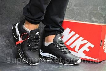 Кроссовки Nike Air Max 2019 черные с белым, код6554, фото 3