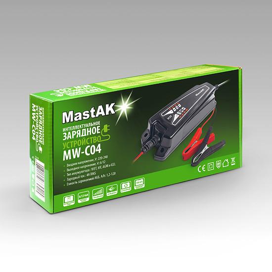 Зарядное устройство MastAK MW-C04 ( 6в и 12в )