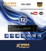 Т2 тюнер HD-1003 с поддержкой wi-fi адаптера ( OPERA DIGITAL ), фото 1
