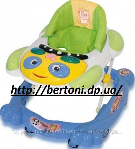Детские ходунки Bertoni (Lorelli) BW-12 - Bertoni — детские коляски, качели, стульчики для кормления, автокресла, манежи, одежда и обувь в Днепре