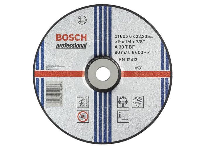 Обдирний круг опуклої форми 180 мм Expert for Metal BOSCH