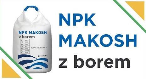 Минеральное удобрение NPK MAKOSH + B