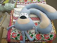 """Игрушка-подушка """"Заяц  для путешествий"""""""