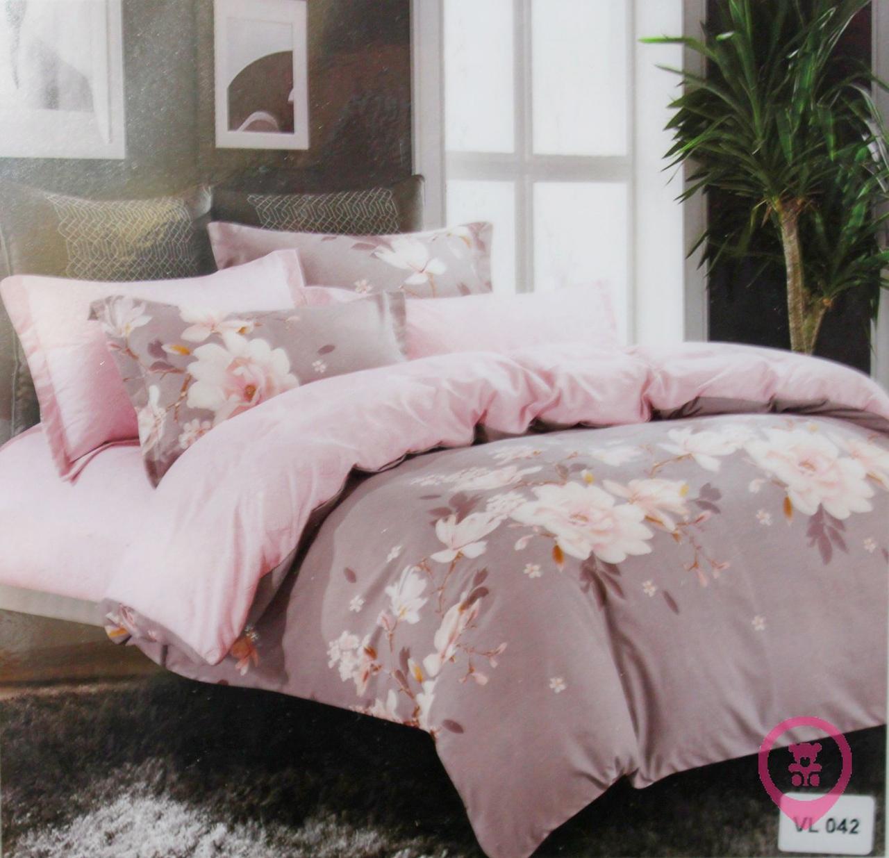 Комплект постельного белья микровелюр Vie Nouvelle Velour 200х220  VL042