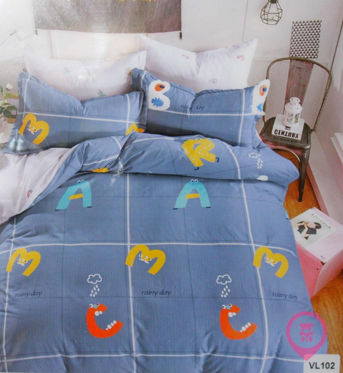 Комплект постельного белья микровелюр Vie Nouvelle Velour 200х220  VL102