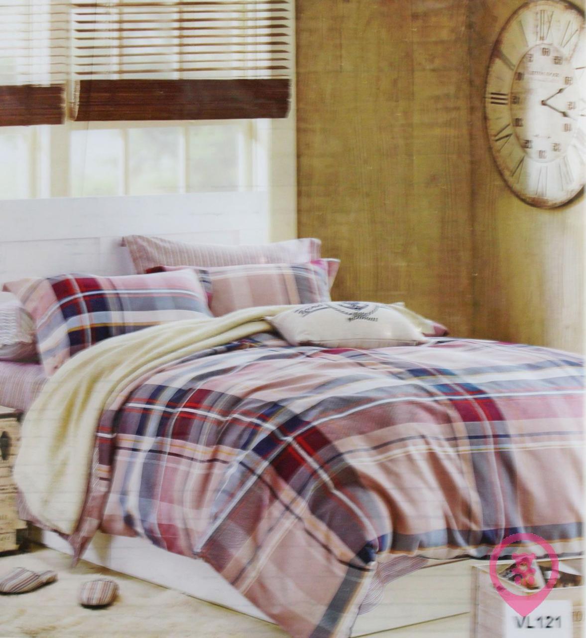 Комплект постельного белья микровелюр Vie Nouvelle Velour 200х220  VL121