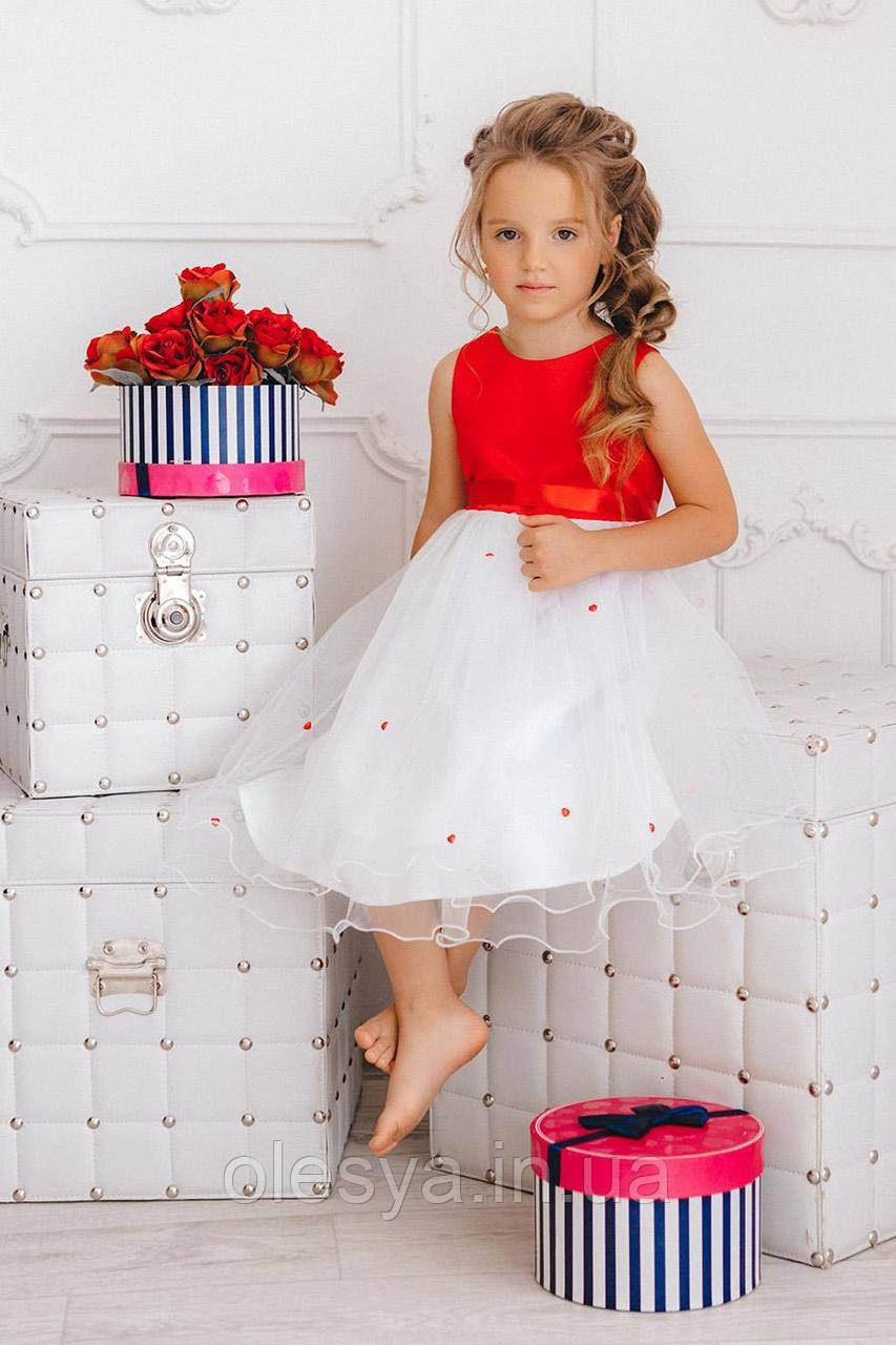 Детское праздничное платье на девочку np-7 Размеры 98 104