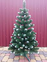 Искусственная елка 1.00м с белыми кончиками (ефект шишки).
