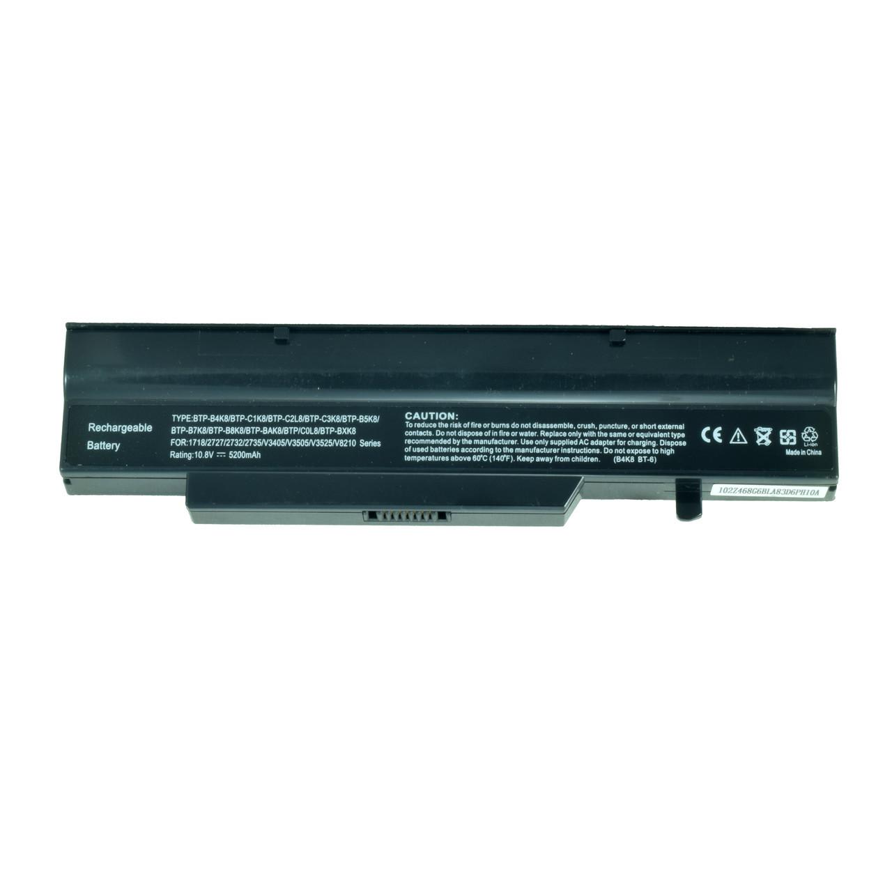 Батарея для ноутбука FUJITSU SIEMENS BTP-B4K8 BTP-B5K8. BTP-B7K8 BTP-B8K8 BTP-BAK8 BTP-C0K8