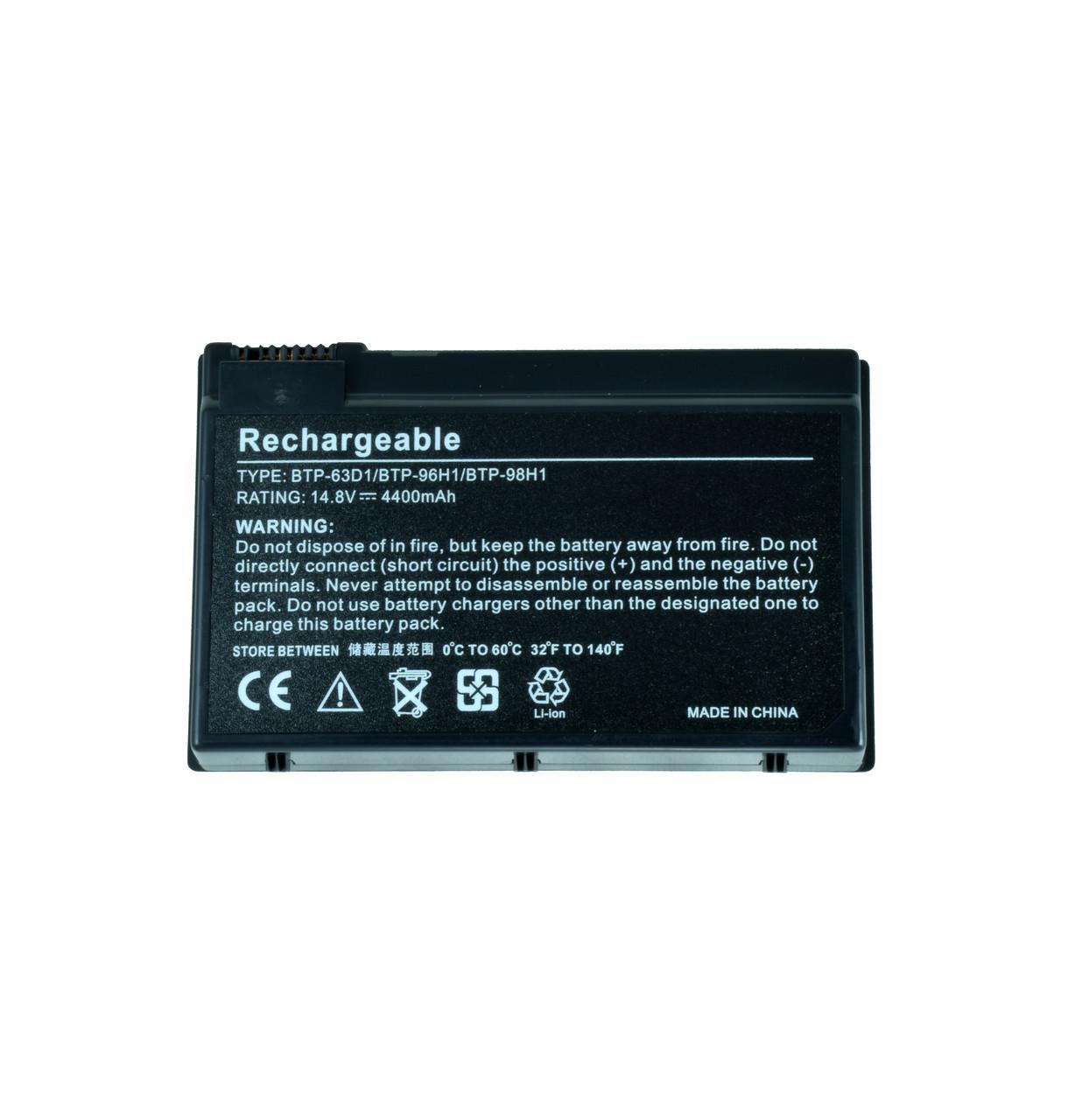 Батарея для ноутбука ACER 60.49Y02.001 91.49Y28.001 91.49Y28.002 BT.00403.005 BT.00803.007