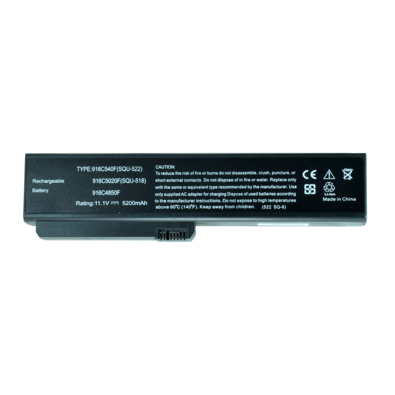 Батарея для ноутбука FUJITSU SQU-518 SQU-522 3UR18650F-2-Q 3UR18650F-2-QC-12 3UR18650F-2-QC12W