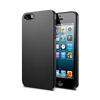 Чехол-накладка SGP Ultra Thin Air для Apple iPhone 5S/5 чёрный (SGP09507), фото 1