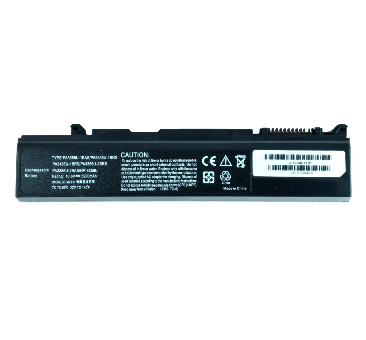 Батарея для ноутбука TOSHIBA PA3356U-1BAS PA3356U-1BRS PA3356U-2BAS PA3356U-2BRS PA3356U-3BAS