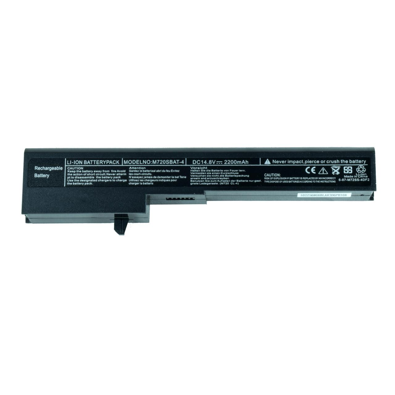 Батарея для ноутбука CLEVO M720SBAT M720SBAT-4 M720BAT-4 M720BAT-8 M720SBAT-8 87-M72SS-4DF2